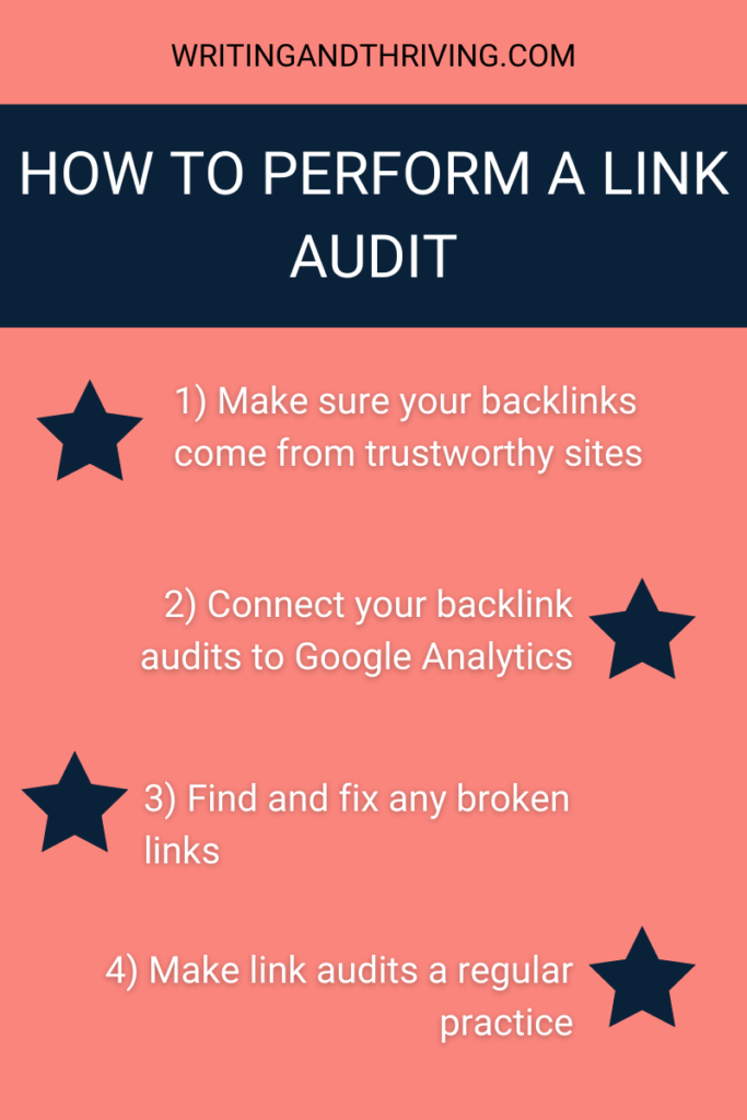 How to Increase Domain Authority: Link Auditing
